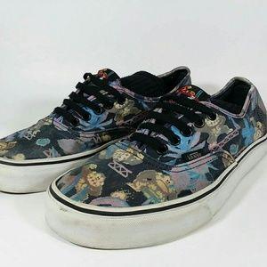 Vans Donkey Kong Shoes mens 9.5 Women's 11